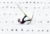Ski crash / #ski #chute #crash #snow