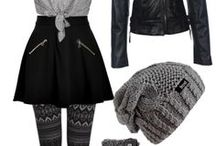 Grunge Outfits Winter