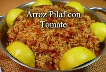 Recetas de arroz / Todas nuestras recetas de arroces de todo tipo en recetas paso a paso.