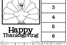 Classroom - thanksgiving
