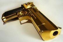 armas de fogo.