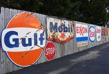 Gas Station Memorabilia (Petroliana)