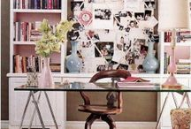 Home Office Inspiration / by Danielle Smith ExtraordinaryMommy.com