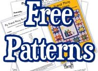 Free patterns / Patterns from pintrest