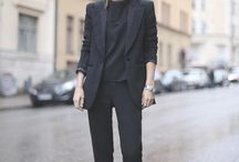 business outfit winter chic