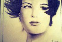 Desenhos / Feitos por mim mesma, Leticia Cabral