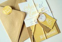 • wedding stationery • / Wedding stationery inspirations.