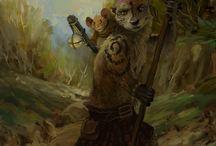 RPG Inspiration Otter Folk