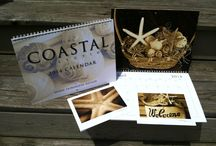Coastal Collection Calendars / 12-month calendars from The Coastal Collection featuring high-resolution photographs printed on heavy, white, glossy card stock suitable for framing. White spiral bounded for easy turning and hanging. Each calendar comes with a bonus fo two Coastal Collection cards!