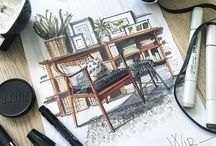 Sketch - Design intérieur
