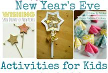 New Years Eve! / Ideas for New Years Eve family fun. New Years Eve Party Ideas. Traditions for New years Eve and Day