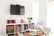 Kids bedroom/pj lounge