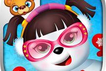 123 Kids Fun Snowman / #snowman #kids #fun #apps #education #winter #snow #christmas