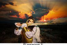 Angel of Death / Sesion fotografica de Rocio. Tematica Angel de la muerte