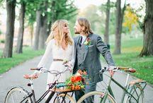 Wedding on Bike