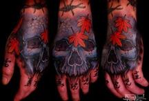 Hand tattoo / by Nils