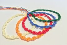 Bracciali all'uncinetto- Tutorial