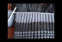 videa pletení a háčkování