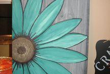 Wood Paintings