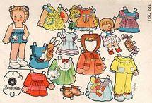vystřihovací panenky