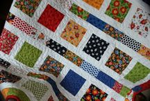 Primary Color Quilts / by Sandy Benson