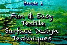 Lisa Walton Textile Artist / Lisa is an internationally awarded textile artist and teacher.  Follow her on www.facebook.com/dyedheaven Or her Website - www.dyedheaven.com
