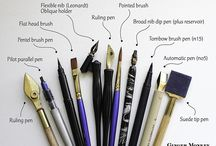 Brush Lettering Tools