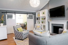 Living room ideas / by Katie McAthy