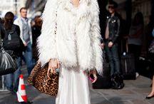 falda blanca, total white look