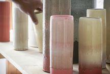Pottery: vases