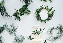 Wedding Design- Green / All things green for weddings