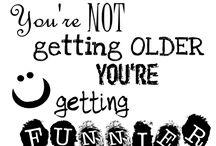 Getting Older Gracefully...or not! / by Teresa Bernard