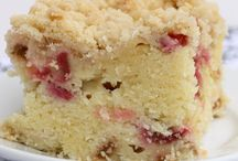 Cake / Rhubarb cake