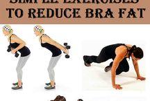 Get rid of bra fat