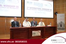 UHS successfully hosted the 6th MOH ENT meeting &the 2nd International workshop on balance disorders / University hospital Sharjah (UHS) successfully hosted the 6th MOH ENT meeting and the 2nd International workshop on balance disorders.