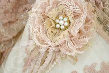 Lace brooch