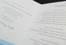 Wedding Invitations / Your wedding invitations will set the tone of your wedding. Find styles from casual to formal.