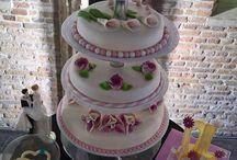 Bruidstaarten / Een mooie inspiratiebron voor aankomende Bruidsparen!!