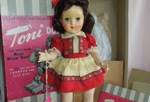 vintage dolls / by Pam Young