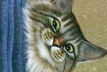 ART Cats by Irina Garmashova