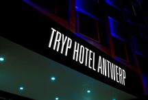 TRYP by Wyndham Antwerp Hotel / The three-star TRYP by Wyndham Hotel Antwerp combines contemporary design and historical visual art in Antwerp's trendy art-nouveau and scenic district: Zurenborg. The design hotel has over 176 rooms, a breakfast restaurant and a Bar & Lounge, which is open around the clock. Meetings and conferences for up to 80 persons can be held thanks to the 110 square metres function space.