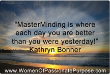 Masterminding / by Kathryn Bonner