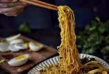 Asian noodle dishes / Noodles that have reigned supreme throughout Asia
