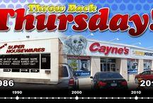 Throw Back Thursdays!