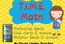 teaching Daily 5 math / by Kelli Holmes