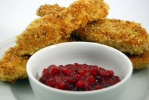 Pecan Crusted Chicken with Cranberry Sauce Recipe