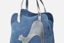 stažené kabelky