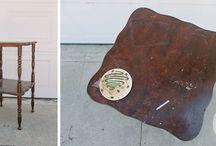 Muebles reciclados / reciclado de muebles