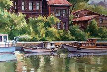 Sulu boya resimler