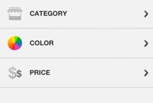 Retail UI    Search / by Amrita ★
